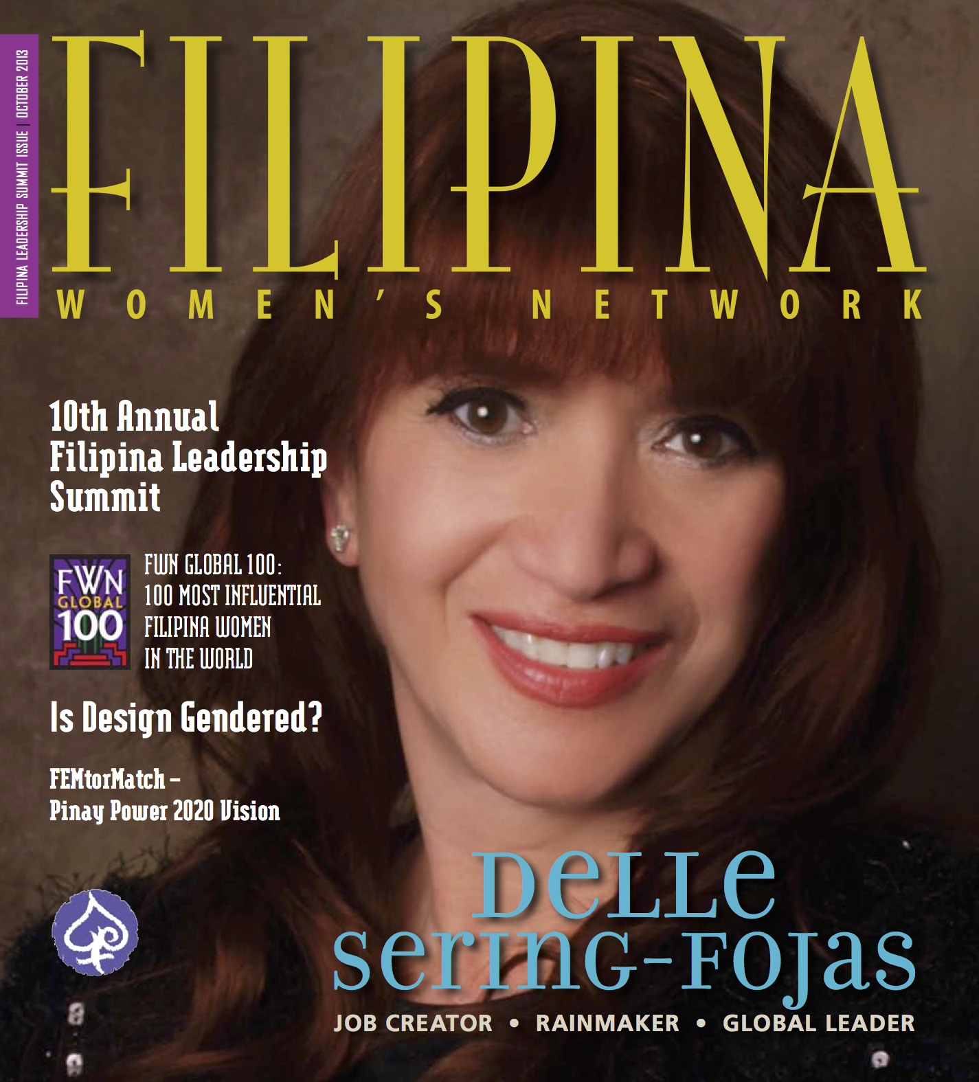 Delle Sering-Fojas, 2013 Global100 Commemorative Issue