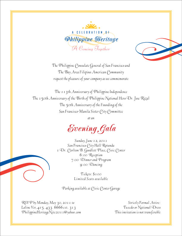 2011 Philippine Independence Day Gala