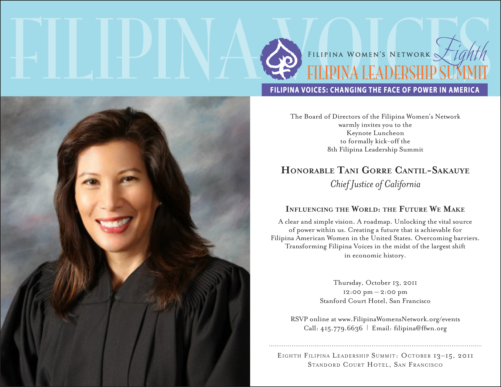Keynote Luncheon with Chief Justice Tani Gorre Cantil-Sakauye