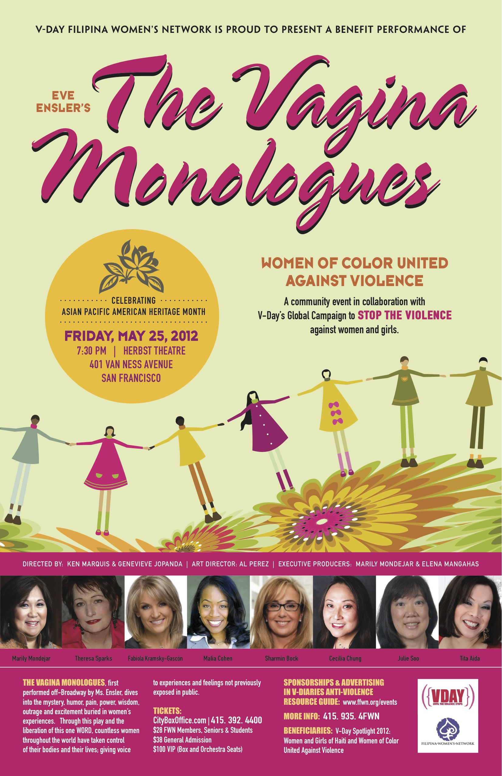 The Vagina Monologues Women of Color United